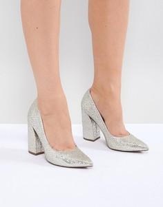 Туфли на высоком каблуке ASOS DESIGN Panama - Мульти