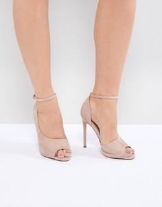 Туфли на каблуке ASOS DESIGN Pippin - Розовый