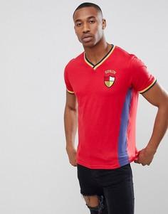 Футболка Brave Soul Spain - Красный