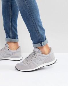 Серые кроссовки Nike Internationalist SE AJ2024-001 - Черный