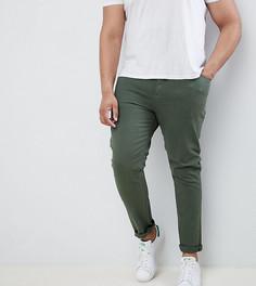 Зеленые джинсы скинни ASOS DESIGN Plus - Зеленый