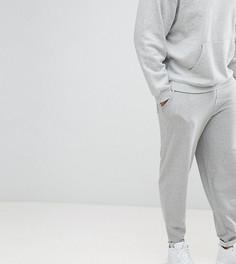 Серые меланжевые джоггеры ASOS DESIGN Plus - Серый
