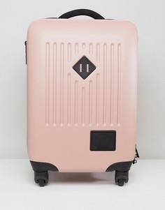Розовый чемодан Herschel Supply Co Hard Carry On - Розовый