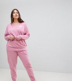 Розовые спортивные штаны Nike Plus Gym Vintage - Розовый