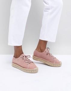 Розовые кроссовки-эспадрильи Alohas Bambita - Черный