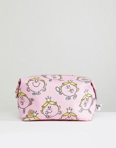 Несессер с принтом Little Miss Princess Mi-Pac - Розовый