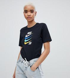 Футболка с логотипом-галочкой Nike SB - Черный