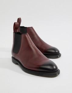 Красные ботинки Dr Martens Wilde Temperley - Красный