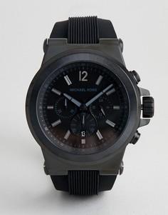 Мужские часы с хронографом Michael Kors - Черный