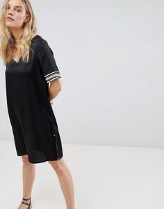 Платье с декоративной отделкой Maison Scotch - Черный
