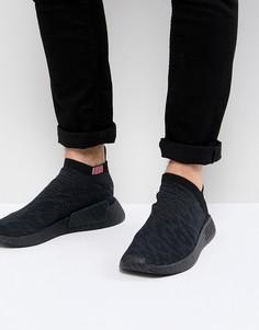 fc3bf57bcce0 Черные кроссовки adidas Originals NMD CS2 Primeknit Boost CQ2373 - Черный