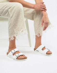 Белые сандалии Birkenstock Arizona - Белый