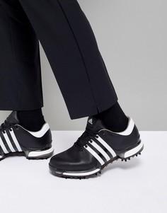 Черные туфли adidas Golf Tour 360 Boost Q44945 - Черный