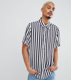 Рубашка в синюю полоску Milk It - Белый