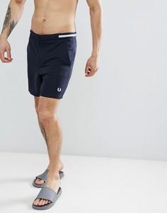 Темно-синие шорты для плавания Fred Perry Riviera - Темно-синий