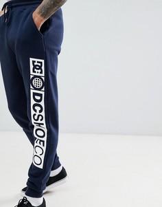 Темно-синие джоггеры с логотипом сбоку DC Shoes - Темно-синий
