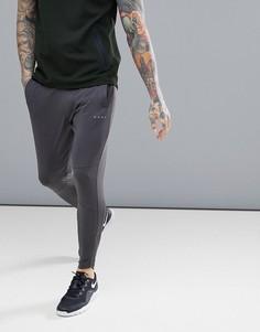 Супероблегающие спортивные джоггеры с молниями на манжетах ASOS 4505 - Серый