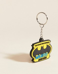 Кольцо для ключей Batman Fathers Day Greatest Super Hero - Мульти BB Designs