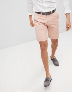 Розовые шорты чиносы узкого кроя Solid - Розовый !Solid