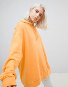 Худи свободного кроя Weekday Shanti - Оранжевый