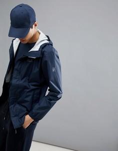 Темно-синяя куртка Jack Wolfskin Cloudburst - Темно-синий