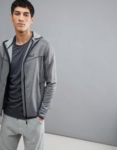 Серая куртка с капюшоном Jack Wolfskin Sutherland - Серый