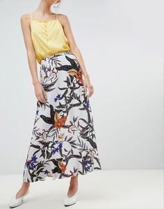 Длинная юбка с цветочным принтом Gestuz - Мульти