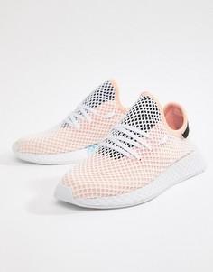 Розовые кроссовки для бега adidas Originals Deerupt B28075 - Черный