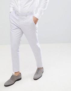 Фиолетовые оксфордские брюки скинни River Island - Темно-синий