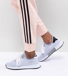 Синие кроссовки adidas Originals Deerupt Runner - Черный