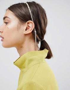 Повязка на голову с цепочкой ASOS DESIGN - Золотой