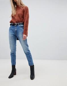 Джинсы в винтажном стиле с завышенной талией Dr Denim - Синий