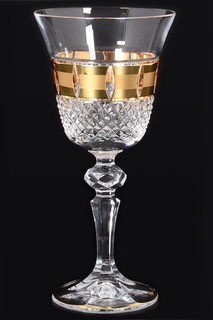 Набор бокалов для вина 170 мл CRYSTAL HEART