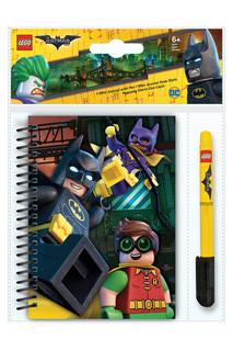 Набор: блокнот, гелевая ручка Lego