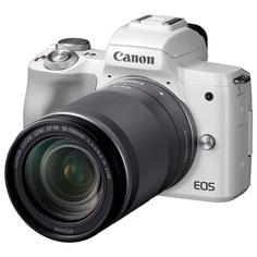 Фотоаппарат системный Canon EOS M50 EF-M18-150 IS STM Kit White