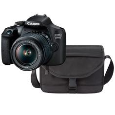 Фотоаппарат зеркальный Canon EOS 2000D Travel Kit