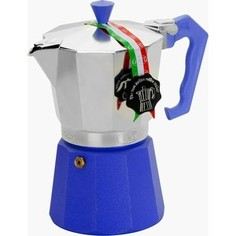 Гейзерная кофеварка на 3 чашки G.A.T. Lady Oro Color синий (103003 blue)