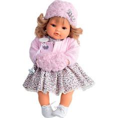 Кукла ANTONIO JUAN Белла в роз., плачущая, 42 см (1669P)