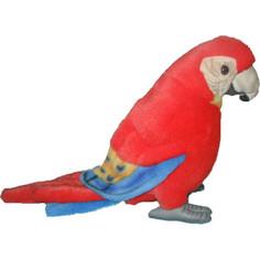 Мягкая игрушка Hansa Попугай Ара, красный, 20 см (3741)