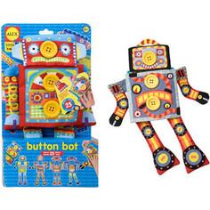 Alex Развивающая игрушка Робот Пуговка, от 2 лет (1496R) Alex®