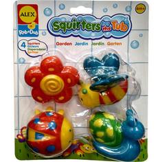 Игрушка для ванны Alex Сад 4 пр., в блистере, от 6 мес. (700GN) Alex®