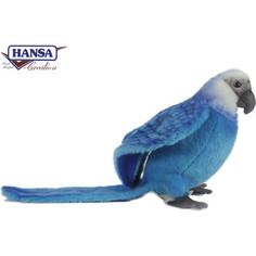 Мягкая игрушка Hansa Голубой Ара, 27 см (6790)