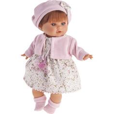Кукла ANTONIO JUAN Кристиана в розовом, плачущая, 30 см (1338P)
