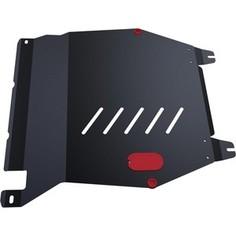 Защита картера и КПП АвтоБРОНЯ для Honda Pilot (2012-2016), сталь 2 мм, 111.02127.1