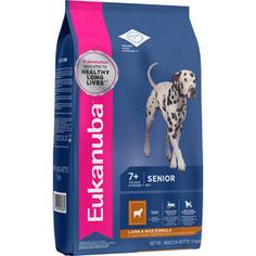 Сухой корм Eukanuba Senior Dog Lamb & Rice Formula с ягненком и рисом для пожилых собак всех пород 12кг