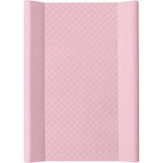 Матрас пеленальный Ceba Baby 70 см без изголовья на кровать 120*60 см Caro pink W-200-079-137
