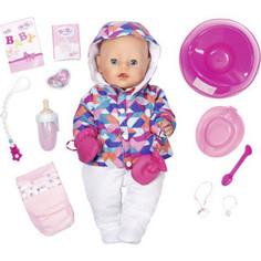 Кукла Zapf Интерактивная Зимняя пора, 43 см