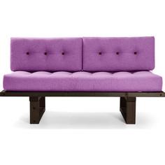 Кушетка Anderson Торн венге-фиолетовая рогожка