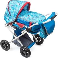 Мое детство Кукольная коляска-трансформер, голубой-париж (1216967/цв 1222957)