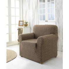 Чехол для кресла Karna Milano коричневый (2684/CHAR005)